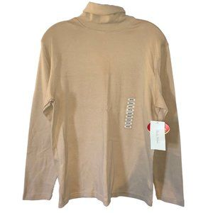 Studio Works Cream Turtleneck Lon Sleeve Top Sz: M